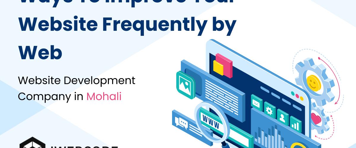 Ways to improve website
